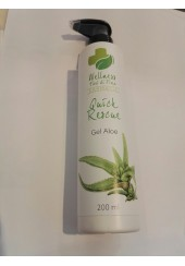 Wellness Fiori di Fiora, Quick Rescue gel di Aloe con Rescue Remedy Bach,200 ml